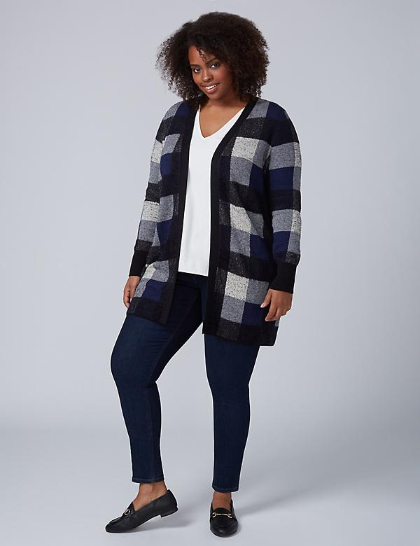 Plaid Overpiece