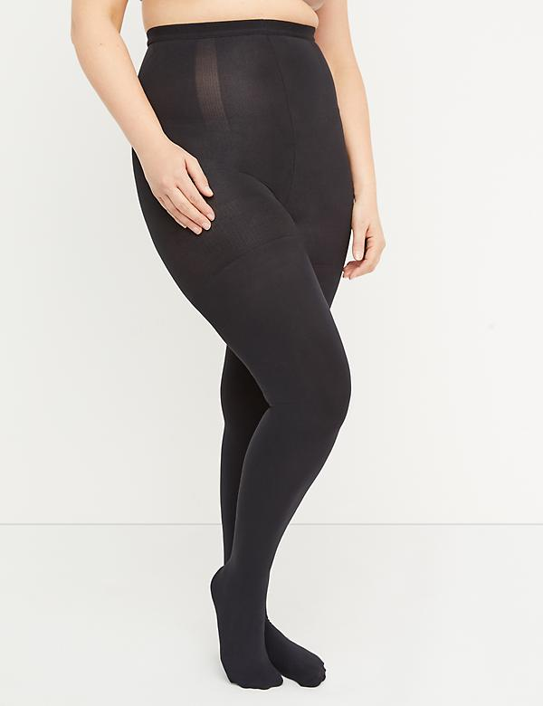 Opaque High-Waist Shaping Tights