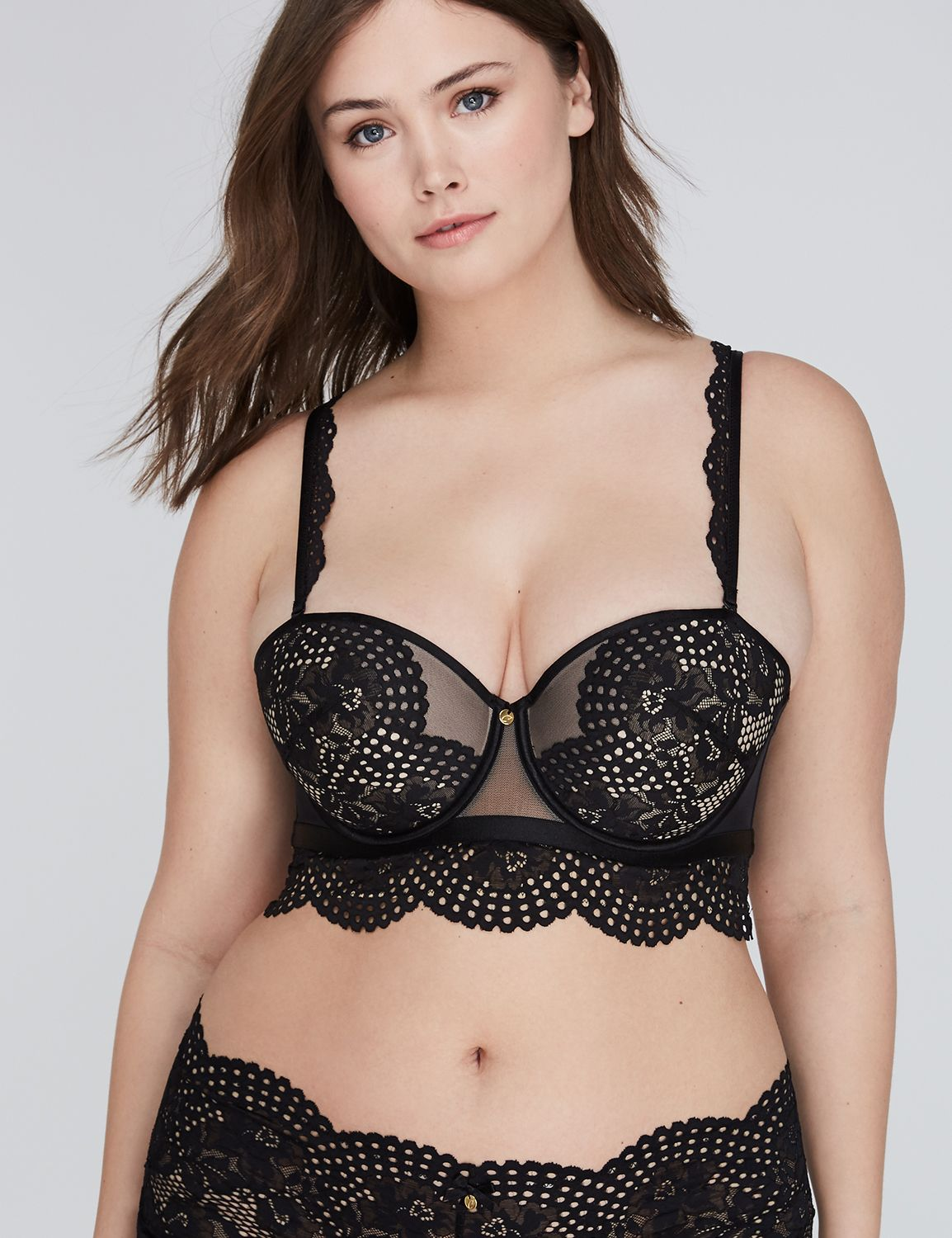 cacique strapless and multi way plus size bras | plus size bras