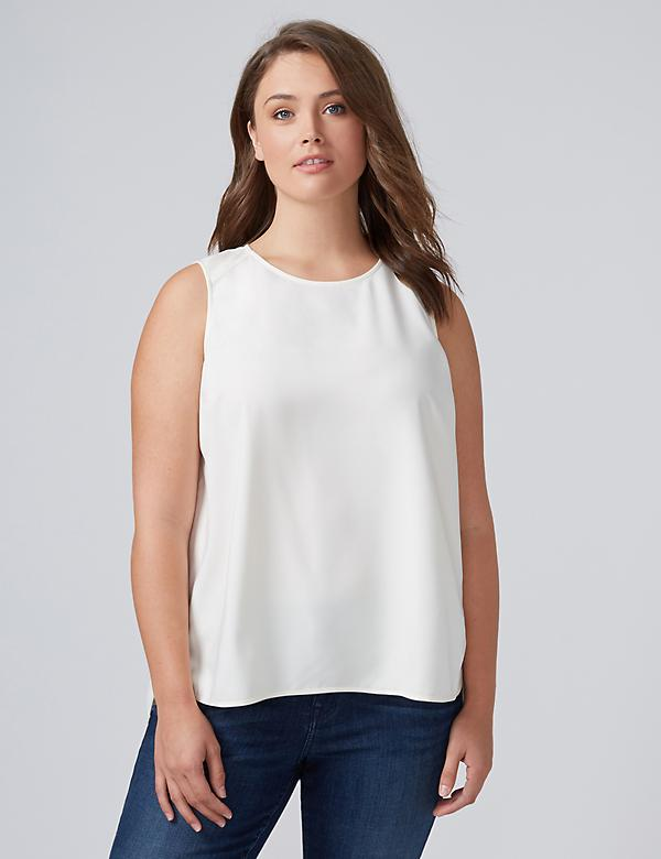 Round-Neck Essential Shell