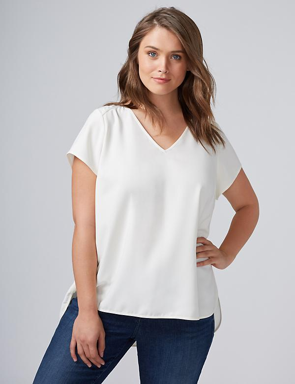 Cap-Sleeve Essential Tee