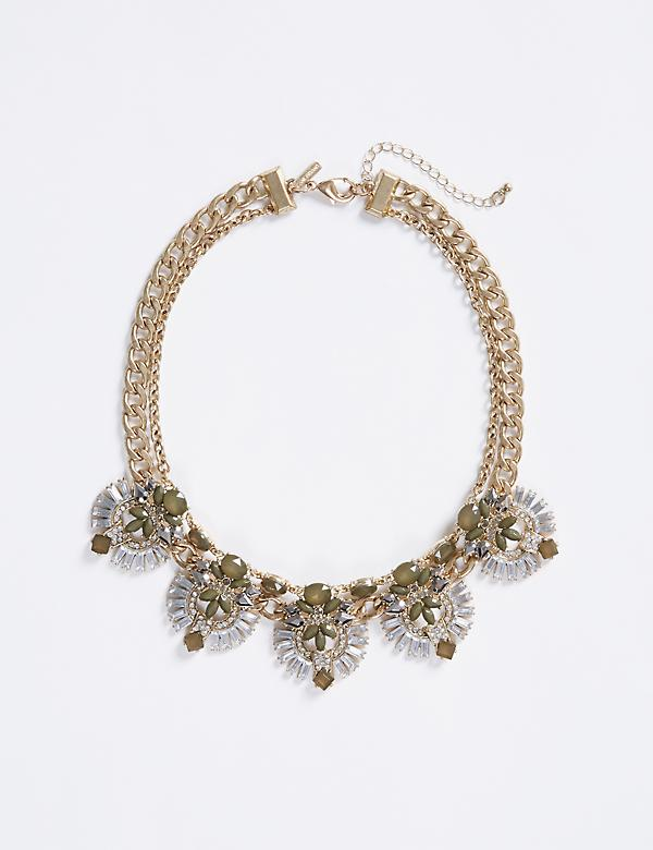 Short Statement Necklace