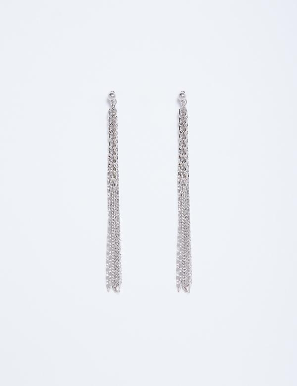 Chain Shoulder Duster Earrings