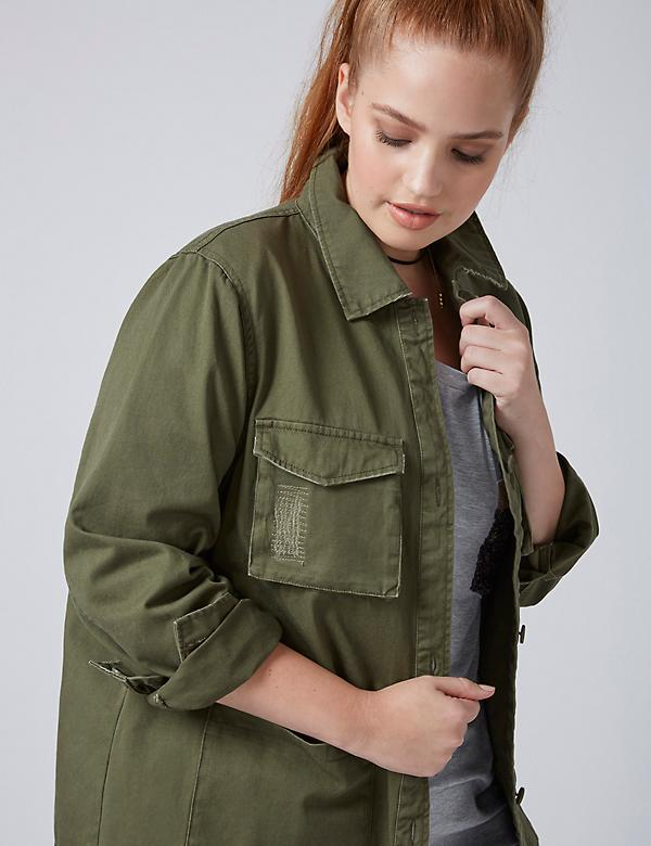 Fast Lane Military Jacket