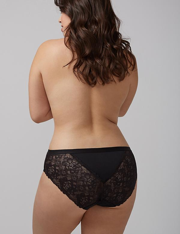 Charmer Hipster Panty with Lace Back