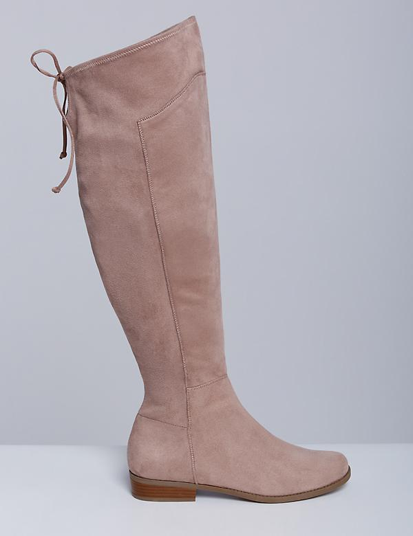 Stretch Over-the-Knee Flat Boot