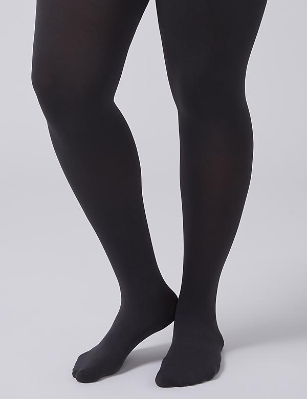 Control Top Solid Tights