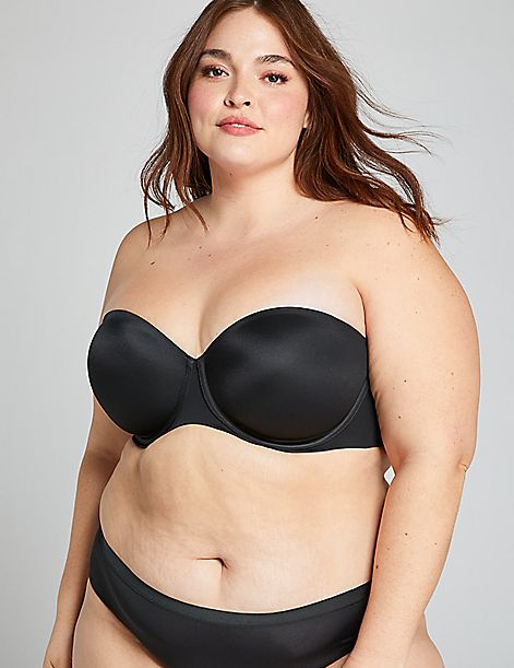Lightly Lined  Multi-Way Strapless Bra