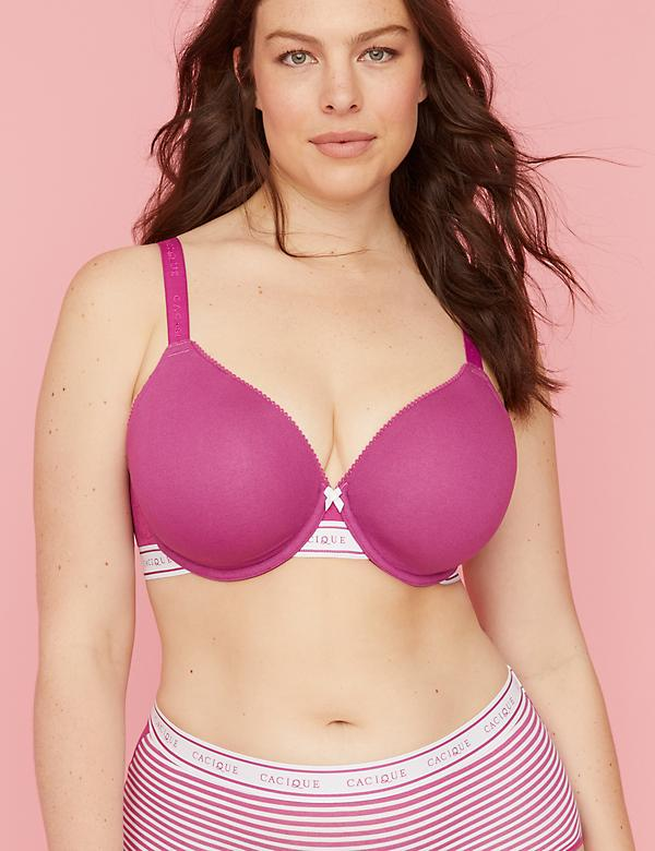 Cotton Lightly Lined Full Coverage Bra