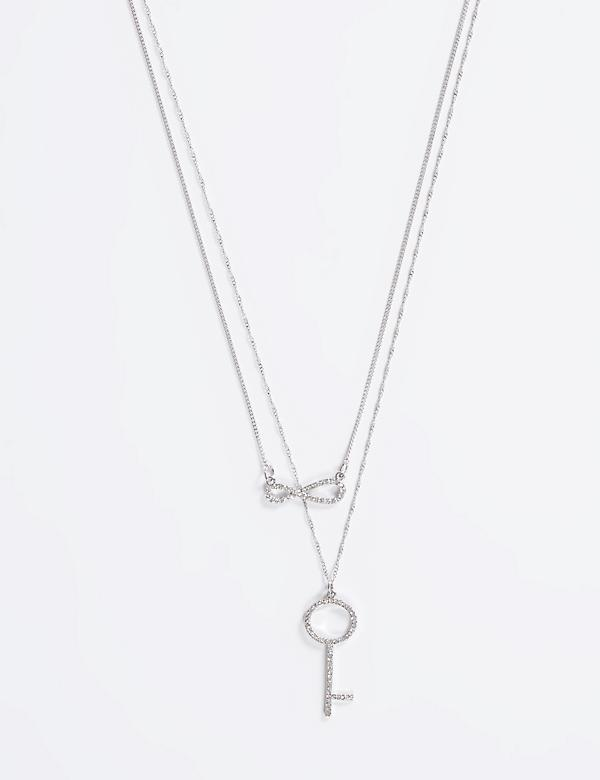 2-in-1 Key & Infinity Necklace