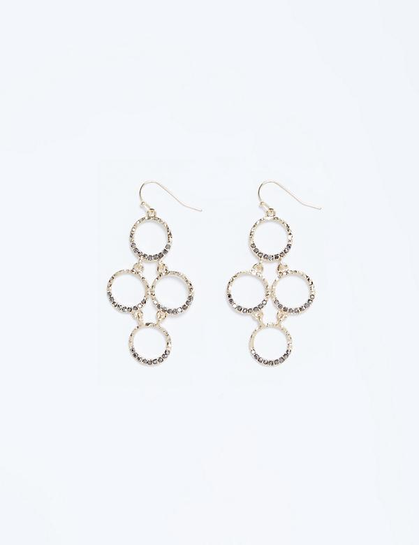Circle Waterfall Earrings