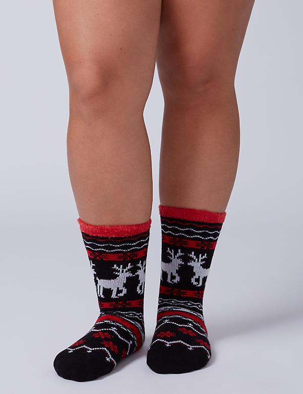 Deer Slipper Socks