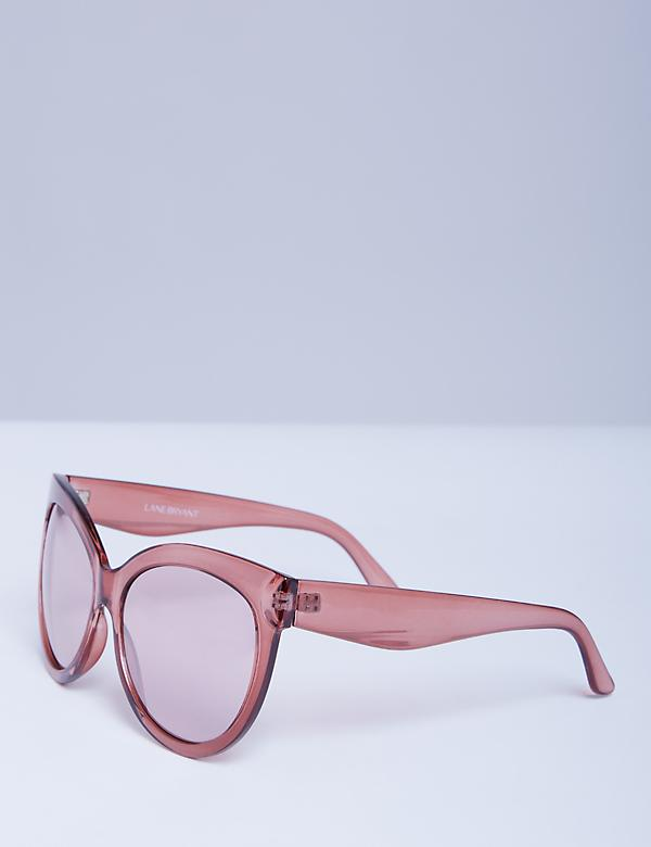 Rose Oversized Sunglasses