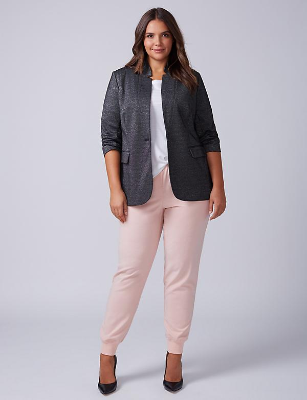 The Bryant Blazer - Sparkle Ponte
