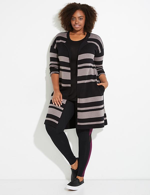 Reversible Active Open Sweater
