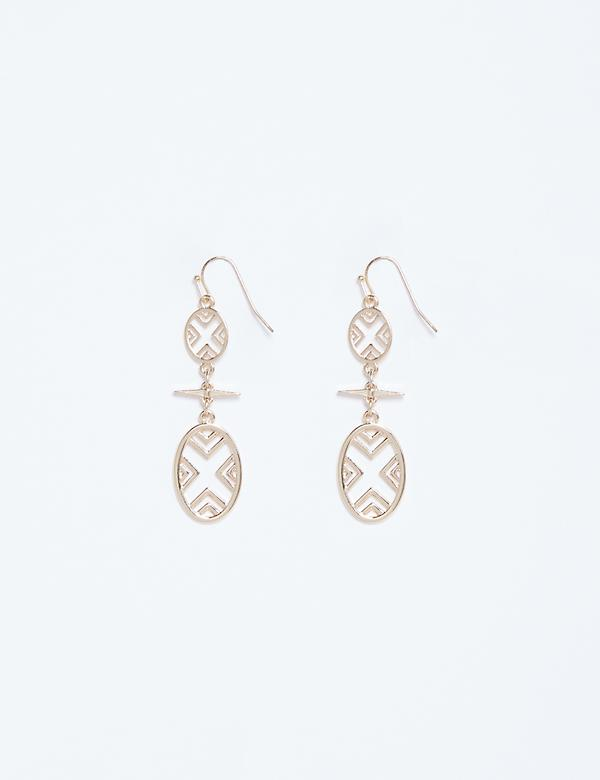 Global Cutout Drop Earrings