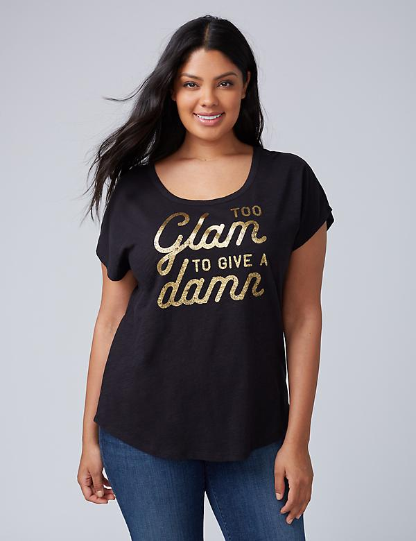 Too Glam Graphic Tee