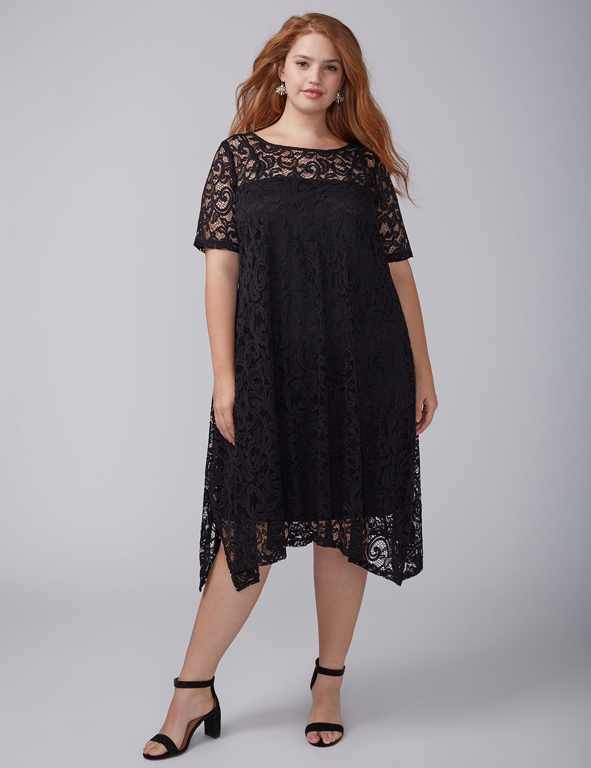 Plus Size Dresses | Fit and Flare, T-Shirt & Party Dresses | Lane ...