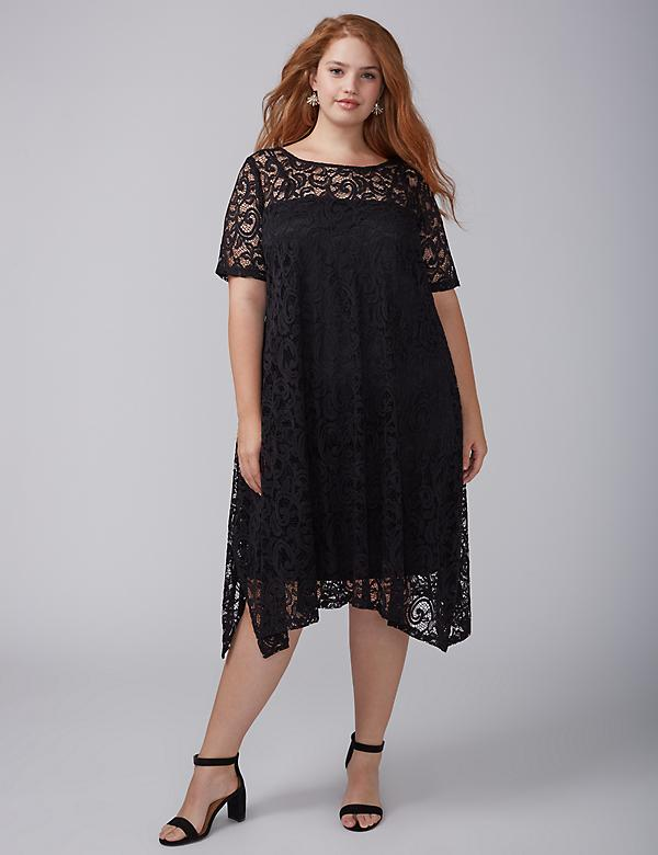 Plus Size Black Dresses & Little Black Dresses | Lane Bryant