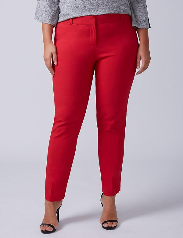 Allie Sexy Stretch Ankle Pant - Twill