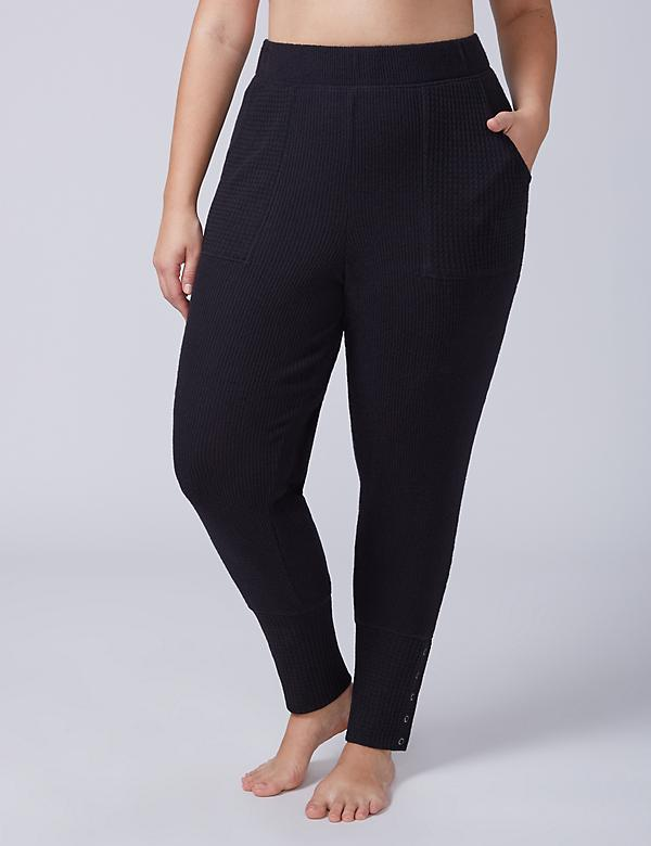Mixed Texture Sleep Jogger