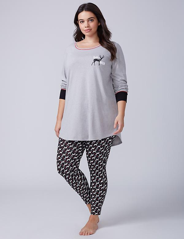 Hello My Dear Tee & Legging PJ Set