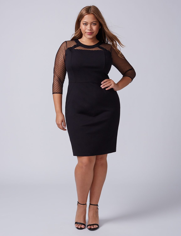 Cute black dresses plus size