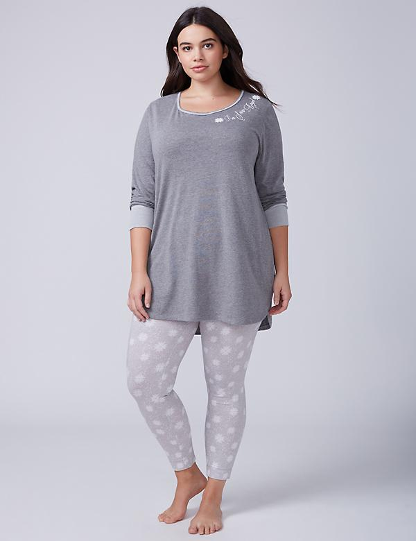 I'm Snow Angel Tee & Legging PJ Set