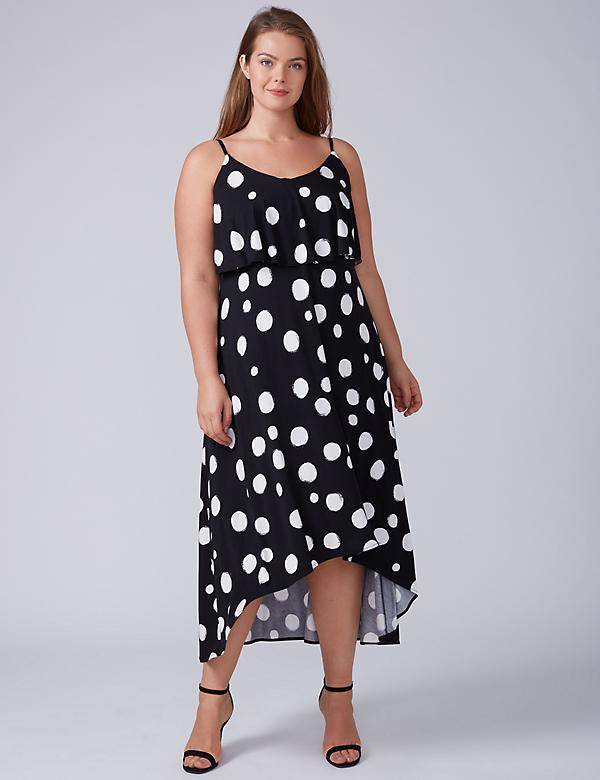 Tiered Swing Maxi Dress