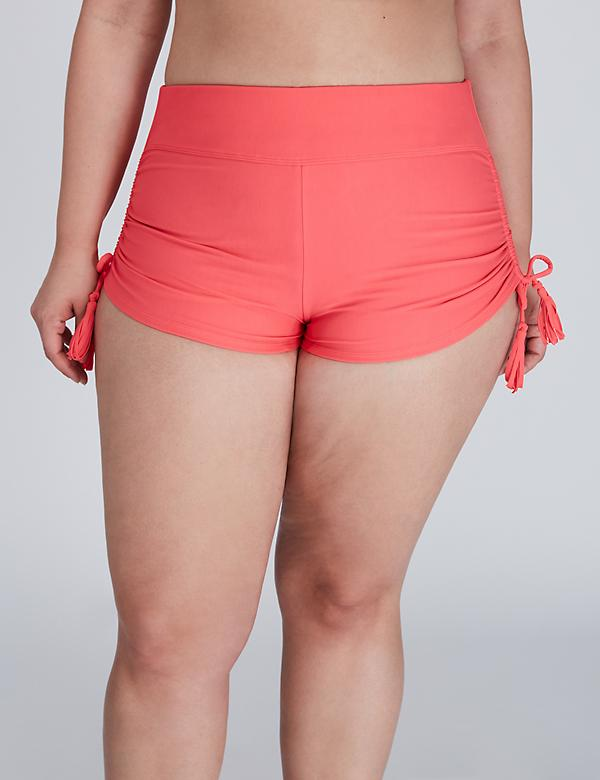 Adjustable Knit Swim Short