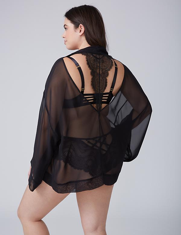 Lace-Back Overpiece
