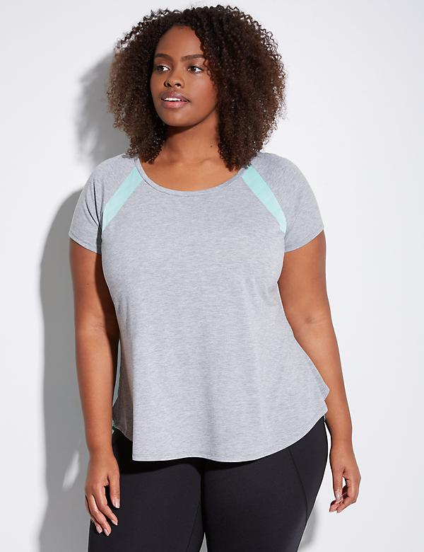 Colorblock Active Tee