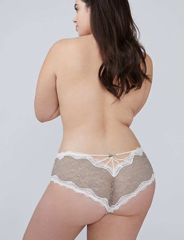 Allover Lace Cheeky Panty