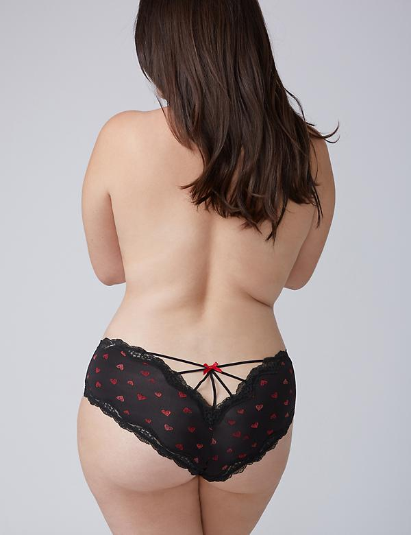 Lace Back Strappy Cheeky Panty