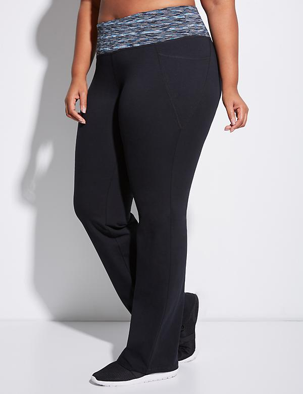 Signature Stretch Yoga Pant with Spacedye Waistband