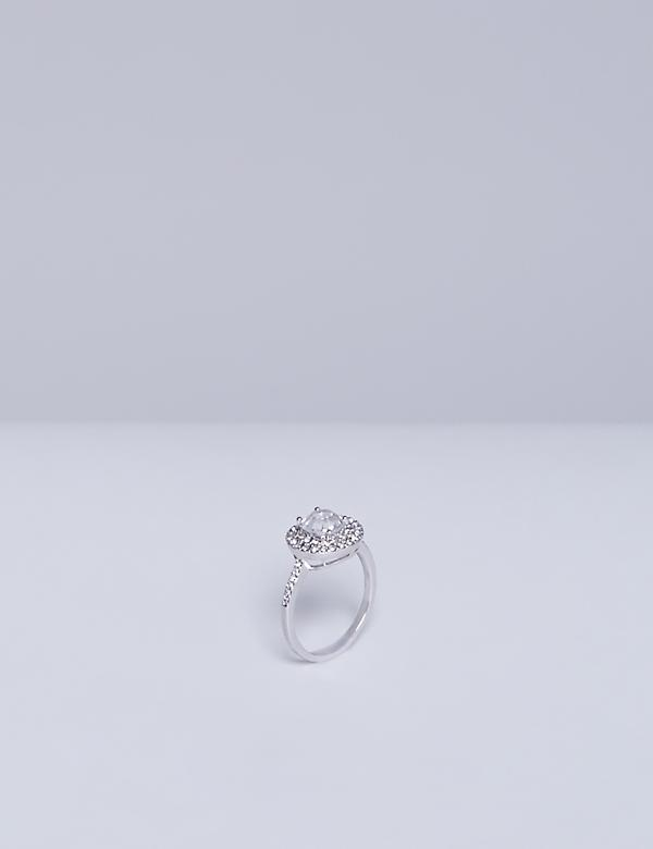 Statement CZ Ring