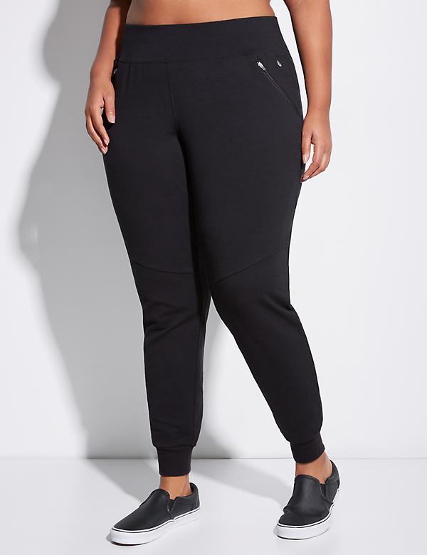 Slim Active Jogger with Zip Pockets