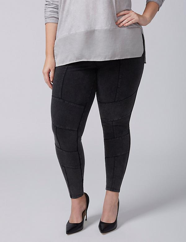 Fast Lane Seamed Legging