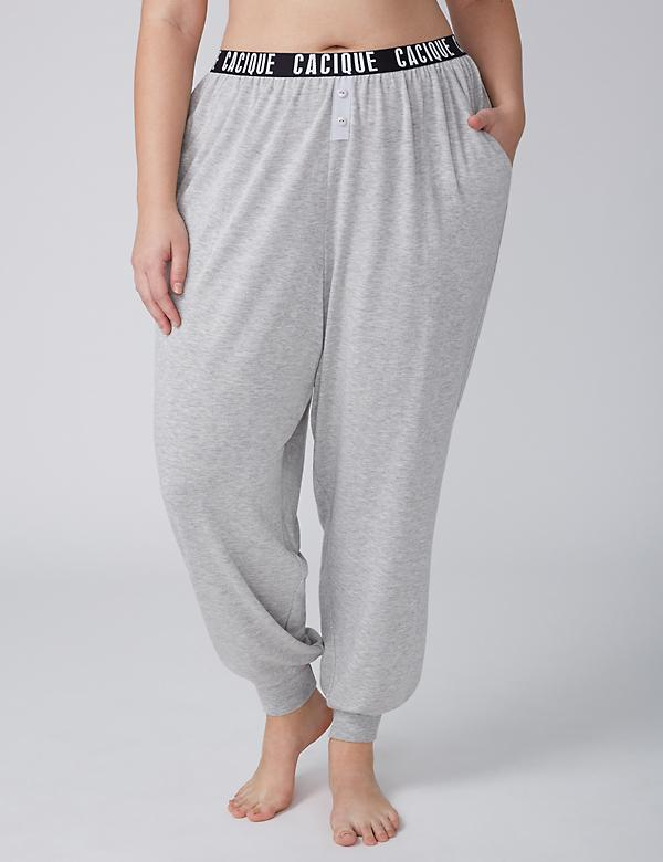 Sleep Jogger Pant with Logo Waistband