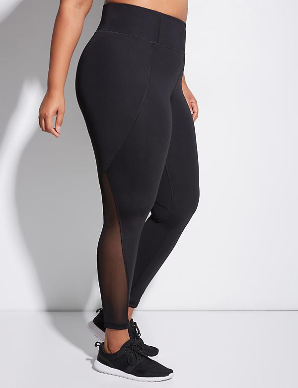 Sculpting Active Legging with Mesh Splicing