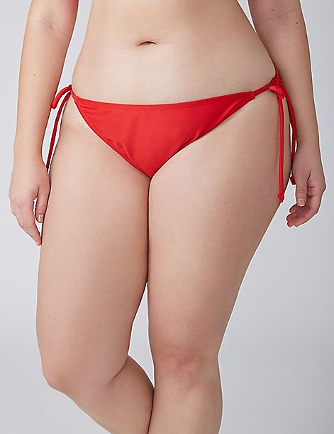 Side-Tie String Bikini Bottom