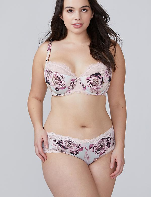 Floral Print Cheeky Panty