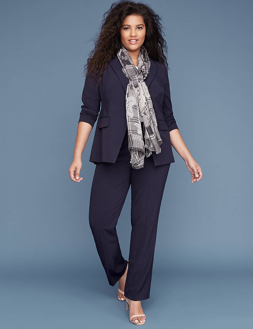 c09be0acc55 Allie Tailored Stretch Straight Leg Pant