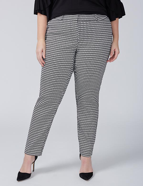 Allie Ankle Pant - Jacquard