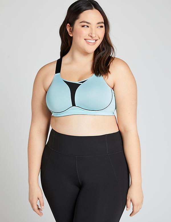 LIVI Active Medium-Impact Wicking No-Wire Sport Bra