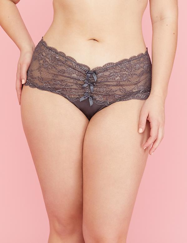 Lace Wide-Side Thong Panty