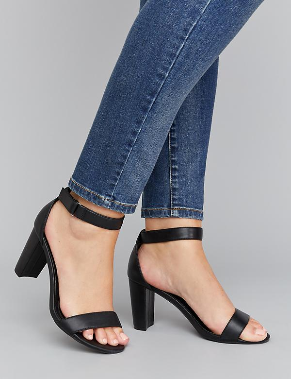 Tall Ankle-Strap High Heel