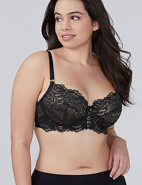 Lace Unlined Full Coverage Bra