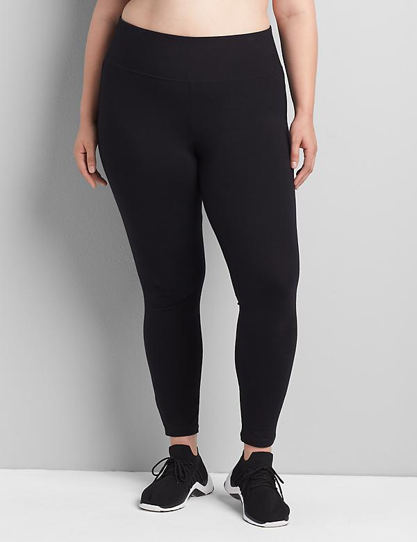 56b5948c86c83 Plus Size Workout Pants. Signature Stretch Active Legging