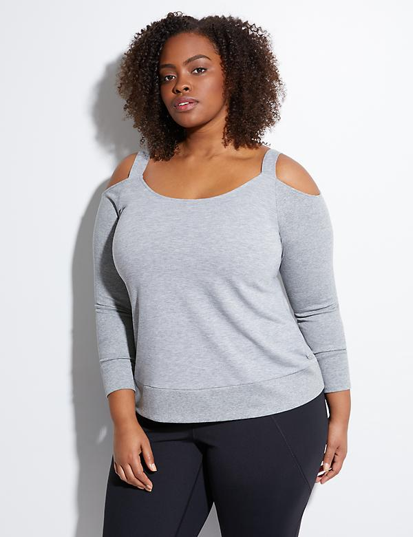 Spa Cold-Shoulder Active Top